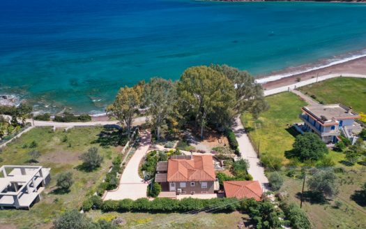 2 Plot and house from above in Ermioni, Peloponisos